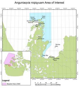 Anguniaqvia niqiqyuam AOI Map (DFO)