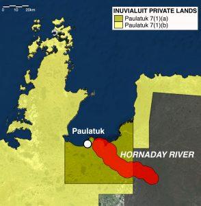 Hornaday River - Sport Fishing Map