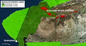 Kuujjua River System - Sport Fishing Map